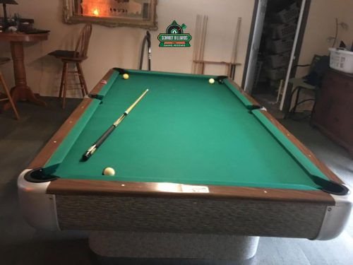 AE Schmidt Comet Pro 8 Foot Full Size Professional Pool Table in Beautiful Original 1960s Condition by Schmidt Billiards and Game Rooms in Columbia MO