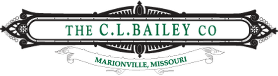 C.L. Bailey Company Logo Marionville, Missouri Quality Game Room Furniture, Billiard Pool Tables and Shuffleboard Tables offered at Schmidt Billiards in Columbia, Missouri