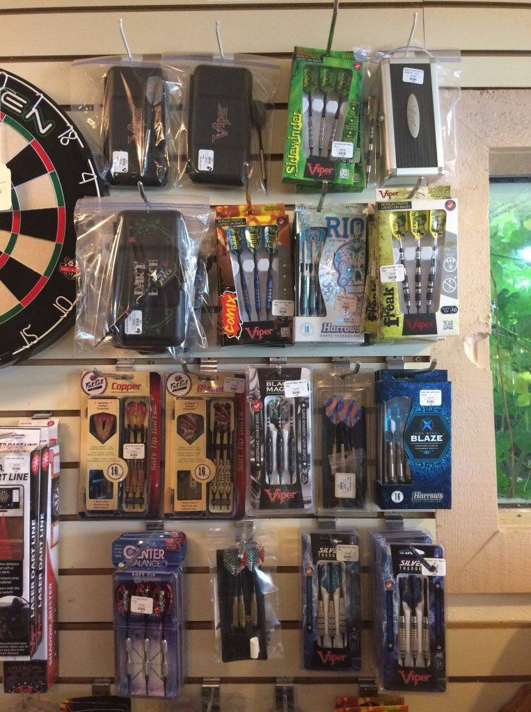 Darts and Dart Board Supplies for your Game Room or Man Cave by Schmidt Billiards in Columbia Missouri