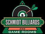 Schmidt Billiards & Game Rooms Logo