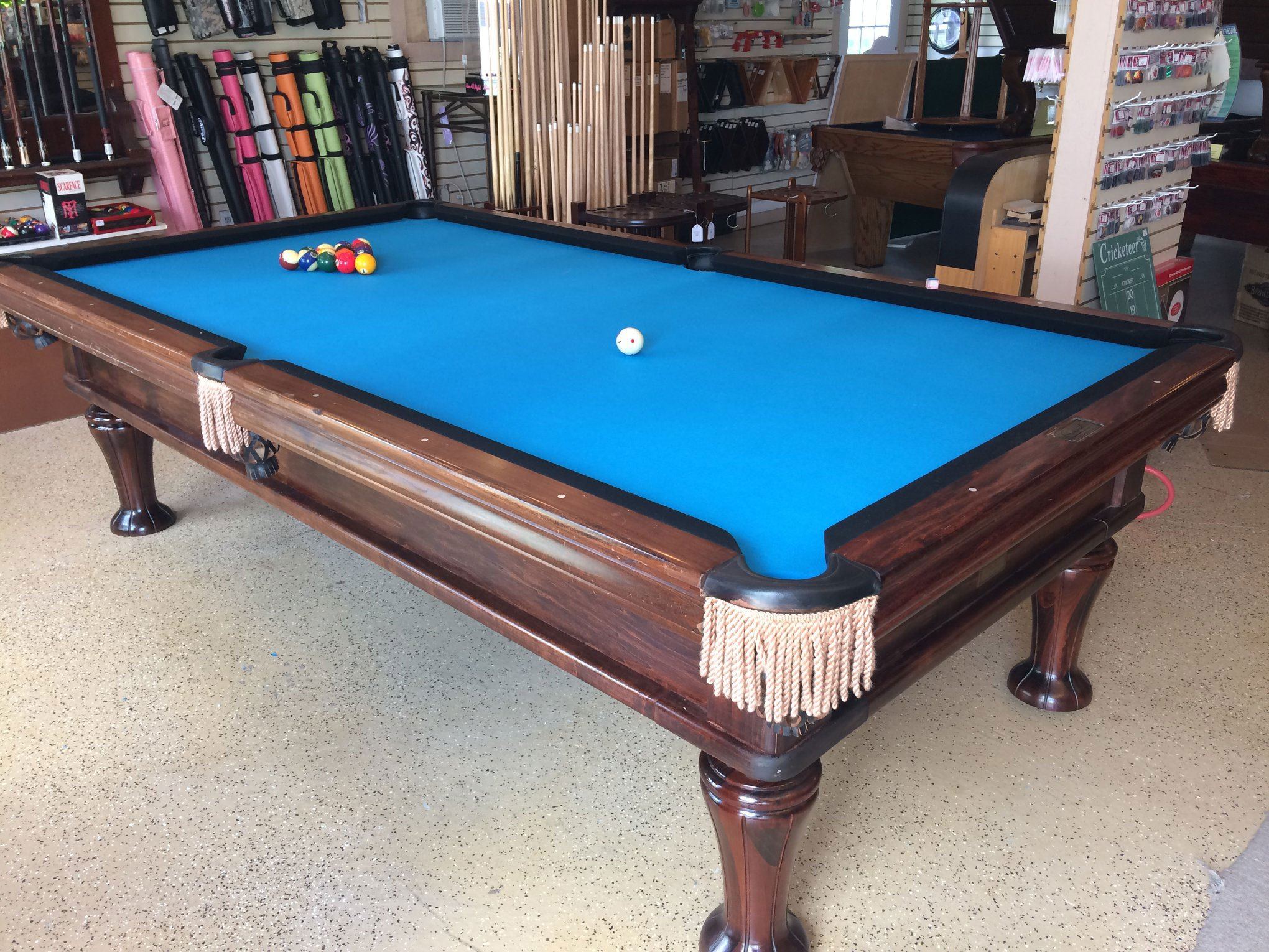 Schmidt Billiards and Game Rooms Pool Tables Darts Supplies and Dart Boards plus Shuffleboard and Pool Tables Service and Repair In Columbia MO